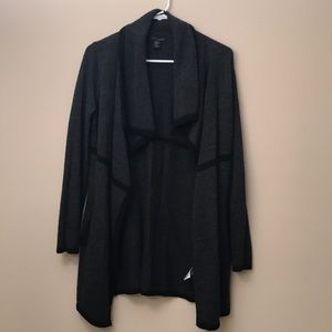 Tahari Wool Blend Cardigan Sweater